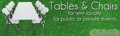 cheap chair and table rentals near me table and chair rental near me melissatoandfro