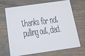 the simplest and best fathers day card