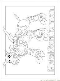 digimon coloring pages 71 nqkwp gif 650 882 lineart digimon