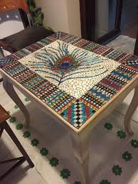 Mosaic Table L Coffee Table Mosaic Writehookstudio
