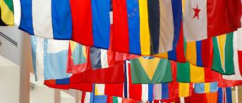 Church Flags Neighbors International Calvary Church Gr