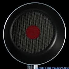 teflon coated frying pan a sample of the element fluorine in the