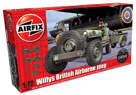 jeep model history airfix a02339 willys british airborne jeep 1 72
