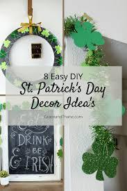 8 easy diy st patrick u0027s day decor idea u0027s grace and thane