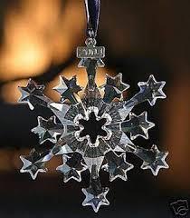 90 best swarovski snowflake ornaments images on