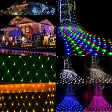 Curtain Fairy Lights by 96 200led Fairy String Net Mesh Lights Xmas Party Holiday Curtain