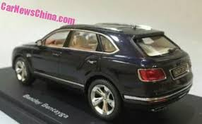 bentley bentayga 2015 bentley bentayga leaked in 1 18 model form gtspirit