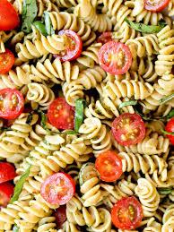 pesto pasta salad happy healthy mama