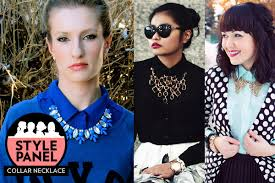 wear collar necklace images How to wear collar necklace la necklace jpg
