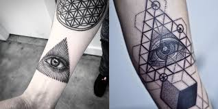 tattoos of the mighty eye of providence and