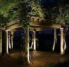 Moonlight Landscape Lighting by Low Voltage Landscape Lighting Sets With Moonlight Small Gazebo