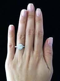 2 carat cushion cut diamond two carat cushion cut diamond ring placee