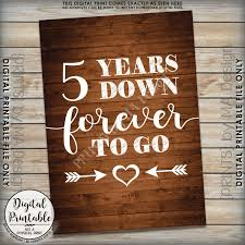 5th wedding anniversary ideas 5 years forever to go 5th wedding anniversary gift wedding