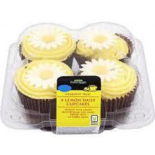 asda lemon daisy cupcakes 4 in asda mysupermarket polyvore