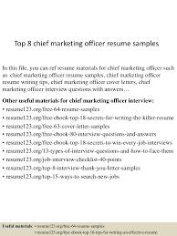 resume format sales and marketing top8chiefmarketingofficerresumesamples 150424221211 conversion gate01 thumbnail 4 jpg cb 1429931575