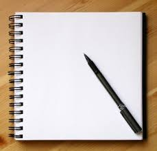 blank paper to write on the taunting blank page gary strachan write said fred