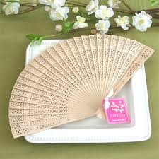 personalized fans for weddings favors decor for an end of summer bash the blossomer