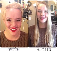 before and after picuters of long to short hair long hair to short ginnifer goodwin style youtube on pixie haircut