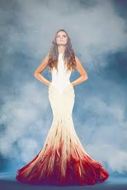 dip dye wedding dress dip dye wedding dresses 22 looks glam is here
