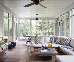 Sunroom Austin Beautiful Sun Porch Furniture Sunroom With White Window Trim Wood