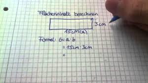 rechteck fläche berechnen flächeninhalt eines rechteckes ausrechnen flächeninhalt rechteck