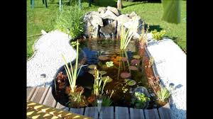 bassin de jardin youtube