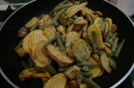 cuisiner des haricots verts surgel poêlée à la forestière produits surgelés picard dans la cuisine