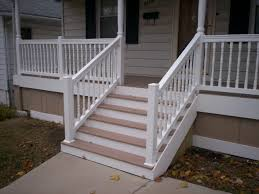 Home Designer Pro Porch by Azek Front Porch With Vinyl Railings And Columns In St Louis