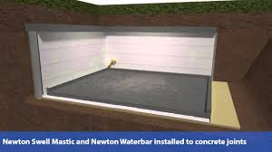 external basement waterproofing new build youtube