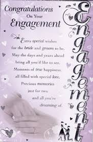 congrats engagement card congratulations on your engagement quote addicts engagements