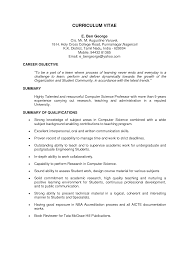 Professor Resume Sample by Professor Resume Sample