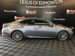 lexus of canada used 2017 lexus es 350 4 door car in edmonton ab l13309