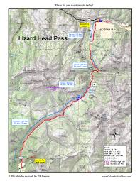 Telluride Colorado Map by Lizard Head Pass Coloradobikemaps