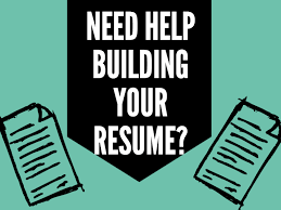 resume building build an awesome resume career center