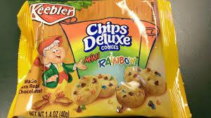 keebler chips deluxe cookies mini rainbow noelle o designs