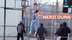 nerds play basketball in the hood like a boss youtube