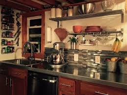 Living Big In A Tiny House by Tiny House Big Farm Kitchen Stainless Steel Countertops Tile