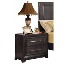 Dark Grey Nightstand Bedroom Nightstands