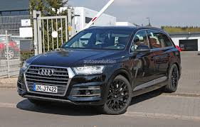 audi jeep 2016 2016 audi sq7 revealed bare in fresh spyshots autoevolution
