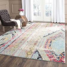 Living Room With Area Rug by 6x8 Area Rug Wayfair