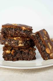 Paleo Almond Butter Brownies Delicious Meets Healthy