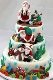 santa claus christmas wedding cake for all your cake