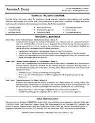 Beginners Resume Examples Trainer Sample Resume