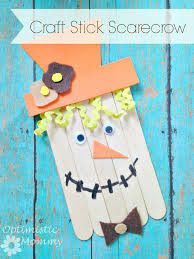craft stick scarecrow u0026 our creation celebration fiskars365