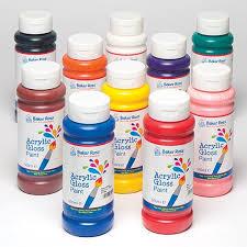 acrylic paint 500ml single colours