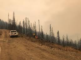 Alaska Wildfire Road Closures by Northwest Interagency Coordination Center August 2017