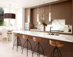 pendant lights for kitchen islands kitchens stunning modern kitchen with brown modern kitchen