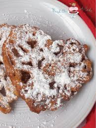 bird on a cake mini funnel cake hearts