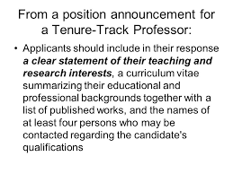 cover letter tenure track best solutions of how to write a cover