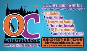 oc party rentals childrens orange county new york bouncers orange county
